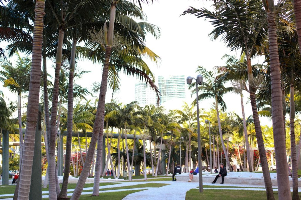 F21 A Walk In Miami Beach Soundscape Park