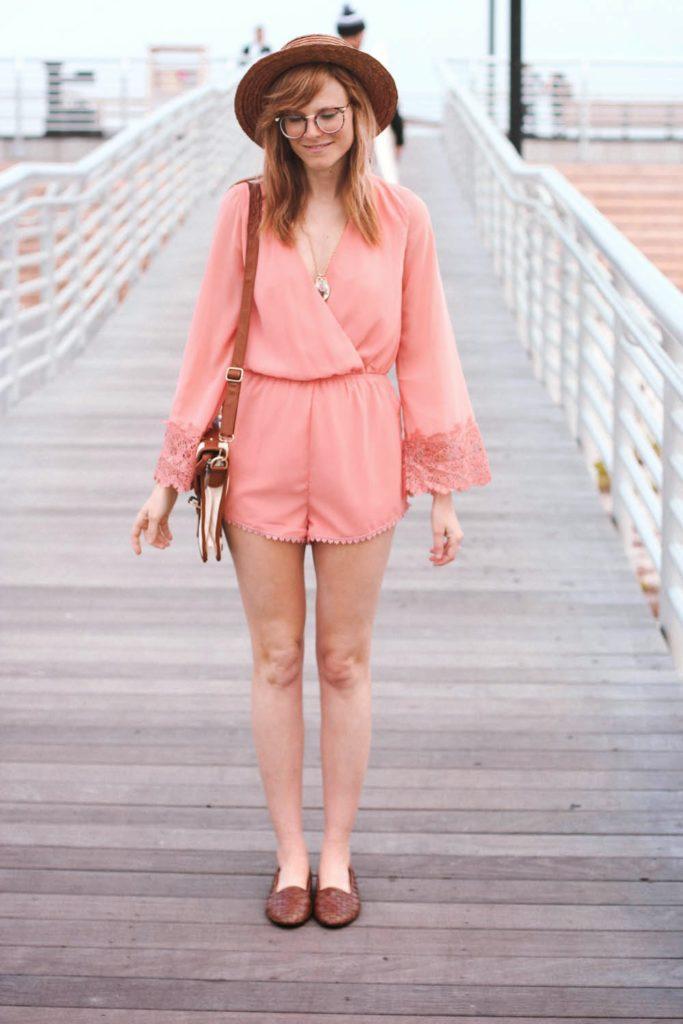 nyc fashion blog, nyc fashion bloggers, nyc style, long beach ny, lulus romper