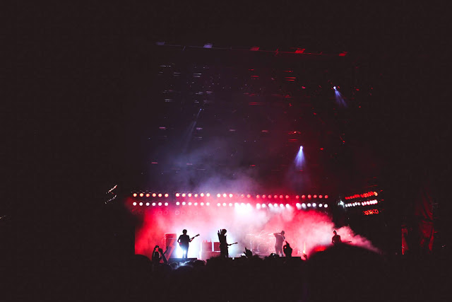 the strokes at shaky knees music festival