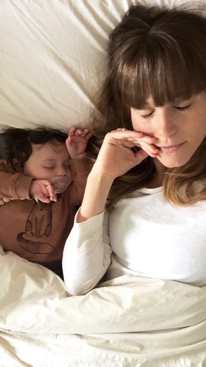 mom and newborn, natural birth, returning to work after maternity leave